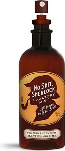 No Shit, Sherlock Lavatory Mist (Blue Q Bathroom Spray)