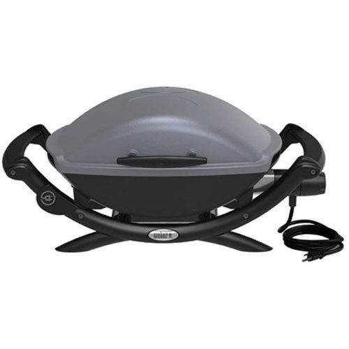 Weber 55020001 Q 2400 Electric Grill Power Burner Porcelain Cast Iron