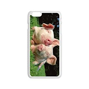 The Pig Love Hight Quality Plastic Case for Iphone 6 by icecream design