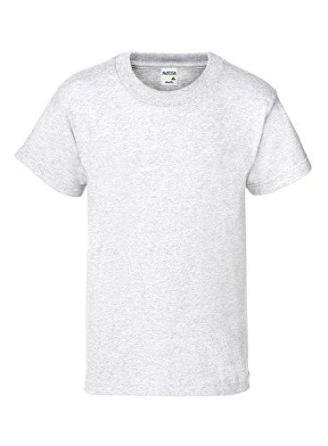 Alstyle Apparel AAA Big Kids' Youth Classic T-Shirt, Ash, Medium -