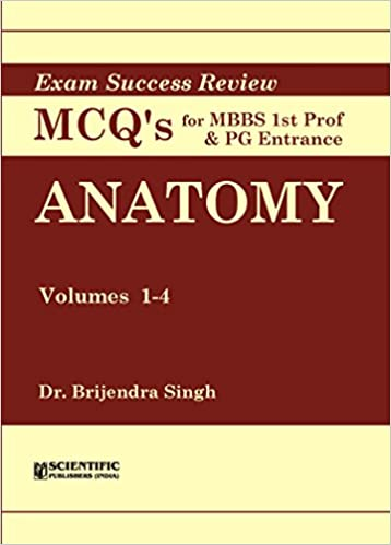 Buy Anatomy (Vol  1-4) - Exam Success Review MCQs for MBBS