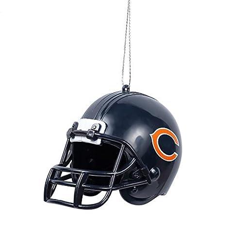 NFL Football 2015 Team Logo Helmet Holiday Tree Ornament - Pick Team (Chicago Bears) - Chicago Bears Christmas Ornament