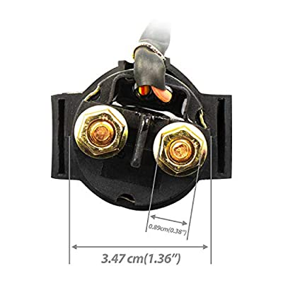 (SN2)UMPARTS 12V Starter Relay Solenoid Switch Motor for All years TaoTao youth KIDS ATV 4 Wheeler 125cc Tao Tao ATA-125A1 / ATA-125-A1 / ATA 125 A1 / ATA125A1: Automotive