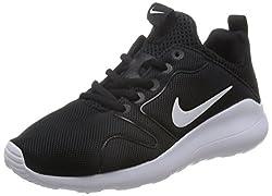 Nike Women's Kaishi 2.0 Running Shoes, Blackwhite, 7.5