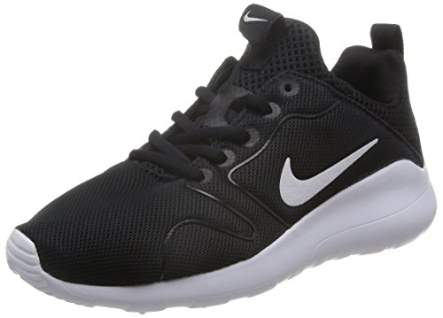 Nike Women's Kaishi 2.0 Black/White Running Shoe 10 Women US