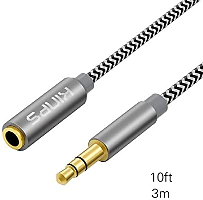 AUX Cable 3.5mm Stereo Audio Input Extension Male to Male Auxiliary Car Cord US