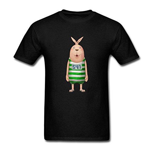 Dotion Men's Usavich Funny Design T Shirt