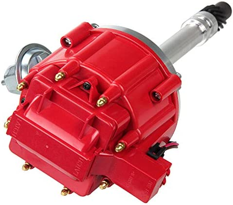 HEI Ignition Distributor for Chevy GM SBC BBC V8 283 305 307 327 350 400 Small Blocks and 396 427 454 65k-75k Coil, 7500RPM-9000RPM