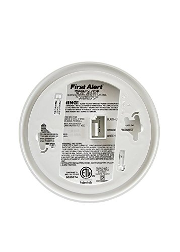 First Alert 7010BFF-12 Smoke Detectors, White by First Alert (Image #1)
