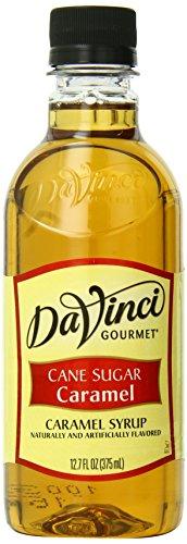 Da Vinci Systems Gourmet Cane Sugar Syrup, Caramel, 12.7 ...