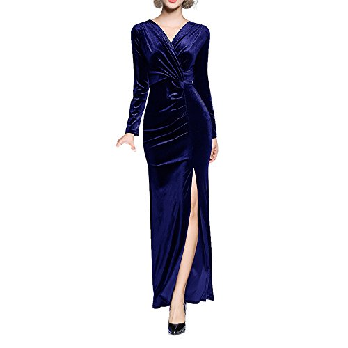 Women's Ball Gown Prom Party Formal Celeb Evening Maxi Dress - 8