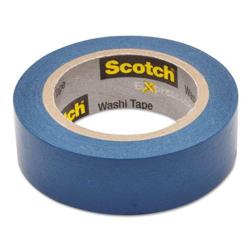 "Scotch - Expressions Washi Tape, .59"" x 393"", Blue C314BLU (DMi RL"