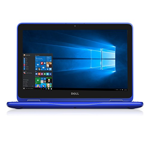 Dell i3168-0028BLU 11.6″ HD 2-in-1 Laptop (Intel Celeron, 2GB, 32 GB SSD, Windows 10) – Blue
