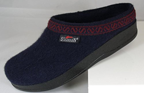 Stegmann Womens Wool-flex Clog L108p Navy