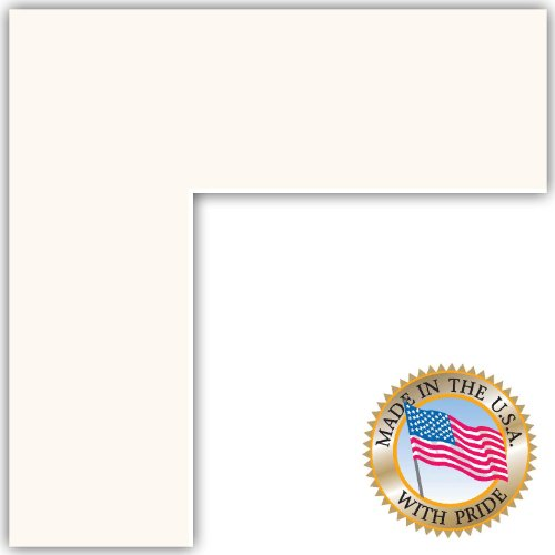16x36 Super White Custom Mat for Picture Frame with 12x32 opening size by ArtToFrames