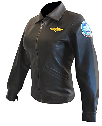 MPASSIONS Top Gun Kelly McGillis (Charlie) Leather Jacket by MPASSIONS (Image #2)