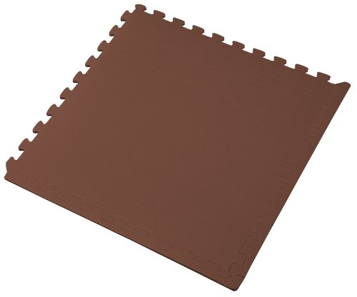 We Sell Mats Brown 36 Sq Ft 9 Tiles Borders Foam