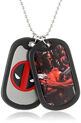 Marvel Comics Stainless Deadpool Necklace product image