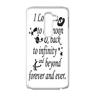 Treasure Design I Love You To Infinity And Beyond HD LG G2 hard case covers