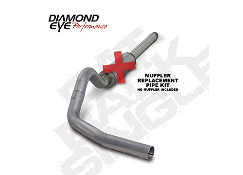 Diamond Eye K4310A-RP Cat-Back Exhaust System (Diamond Eye 4' Exhaust)