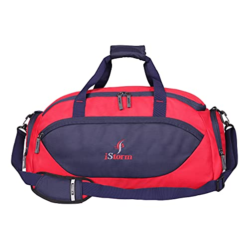 Istorm Delta Duffel Travel Bag  Navy  amp; red   Red  amp; Navy
