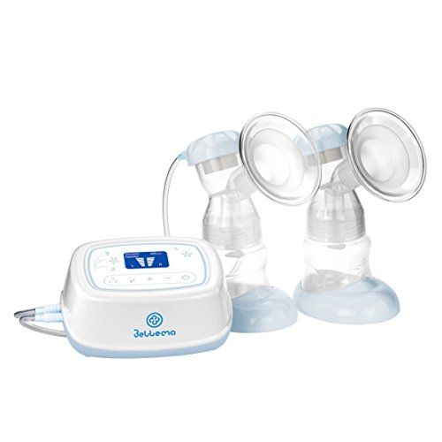 BelleMa Effective Pro Double Electric Breast Pump (Mom's Choice Award Winner), with IDC (Independent Dual Control)