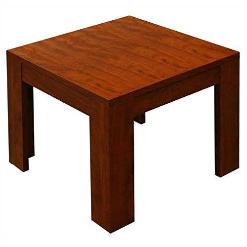 Boss N22-C 22-Inch by 22-Inch Cherry End Table
