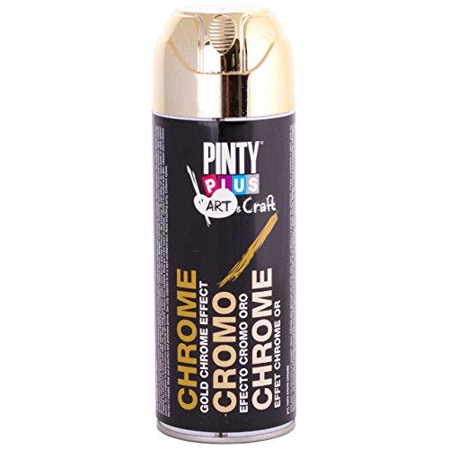 Chrome Effects Spray Paint - PintyPlus - 400 mL Can - - Frames Paint Spray Glasses