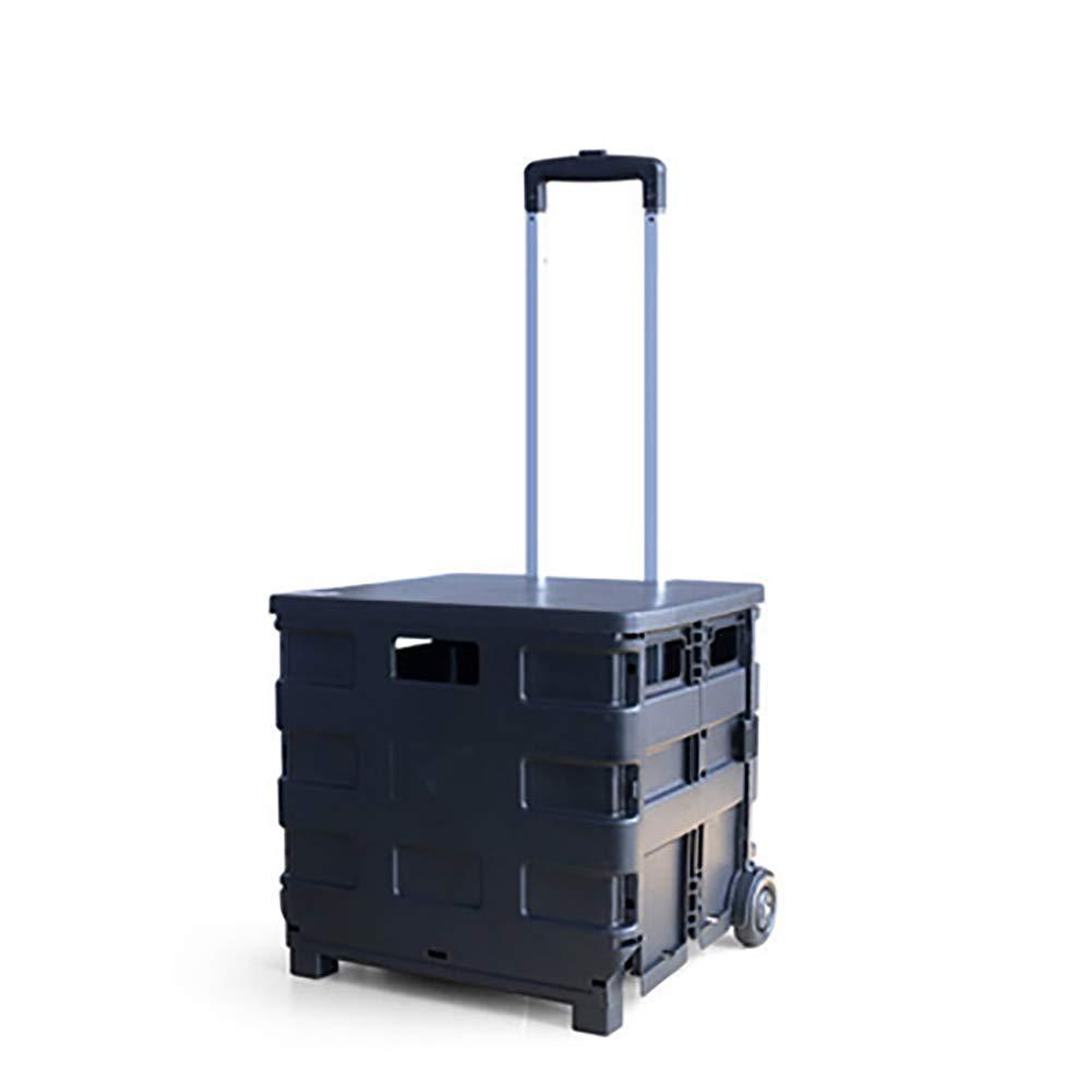 ti renderà soddisfatto Leggero pieghevole del carrello di altezza regolabile, può essere utilizzato utilizzato utilizzato come sgabello, in lega di alluminio staffa, stabile e ad alta cuscinetto di carico per una facile memorizzazione-nero  punto vendita