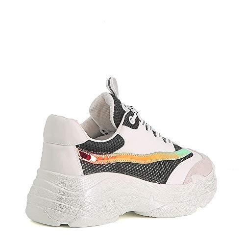 Pailletée Misstic Dad Noir Baskets Shoes wBwYx41q