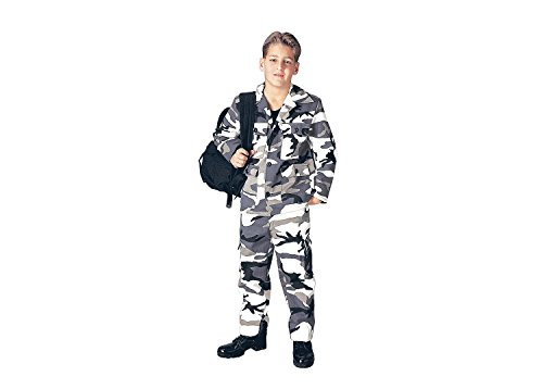 Rothco Kids BDU Pants - City Camo, 10 Size
