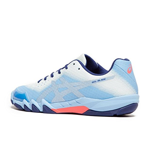 Blue Shoes Blade 6 Asics Women's Squash Gel qHFfwTx4