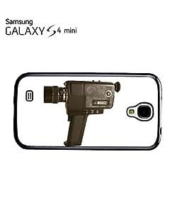 Super 8mm Vintage Retro Camera Mobile Cell Phone Case Samsung Galaxy S4 Mini Black