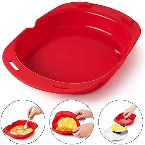 Microwave Omelet Maker for Silicone Omelette Egg roll maker