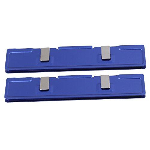 BQLZR Aluminum Alloy DDR2 SDRAM RAM Memory Cooler Heat Spreader Heatsink Pack Of 2