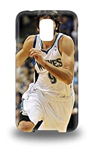 Sanp On Case Cover Protector For Galaxy S5 NBA Minnesota Timberwolves Ricky Rubio #9