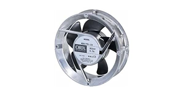 H W ORIX 24 VDC Axial Cooling Fan H 172 mm W X 172 mm X 6.77 in. 6.77 in.