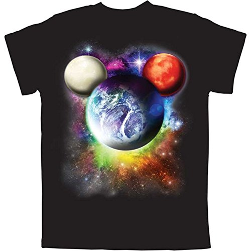 Disney Planet Mickey Mouse Boys T Shirt (Small)]()