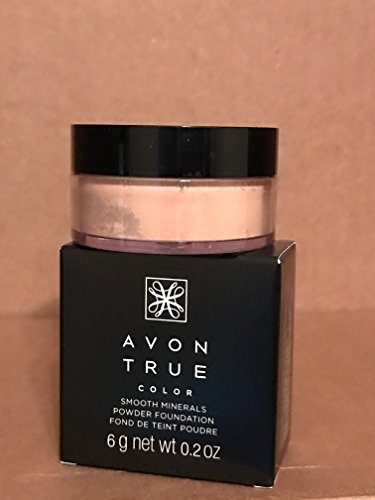 Avon True Color Smooth Minerals Powder Foundation NUDE
