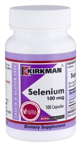 Selenium 100 mcg Capsules - Hypo - 100 ct.