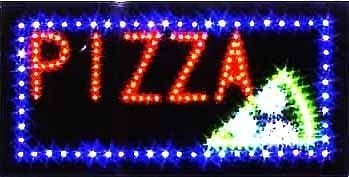 (E-ONSALE LED Neon Light Pizza Sign for Business (Pizza L14))