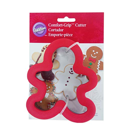 Wilton Gingerbread Boy Comfort Grip Cookie Cutter