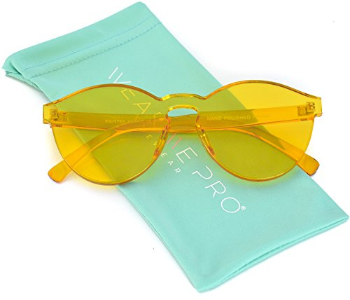 WearMe Pro - Colorful Transparent Round Super Retro - Colorful Glasses
