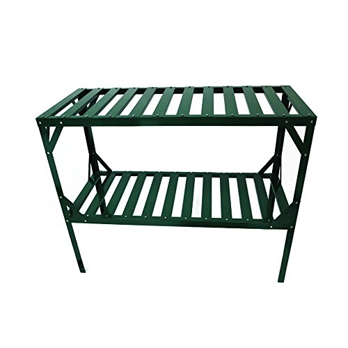 Grandio Two-Tier Greenhouse Potting Bench (Greenhouse Bench)