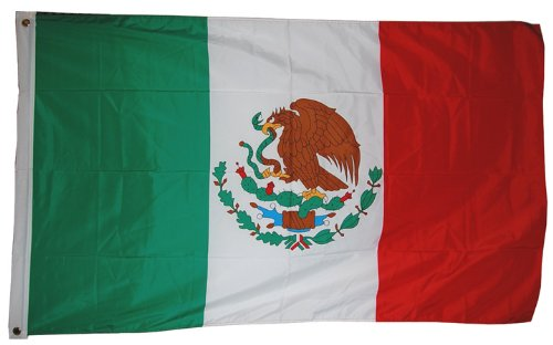 Mexican National flag 3ft by 5ft