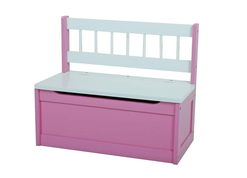 Gravidus 2er Set Kinder-Truhenbank, Pink