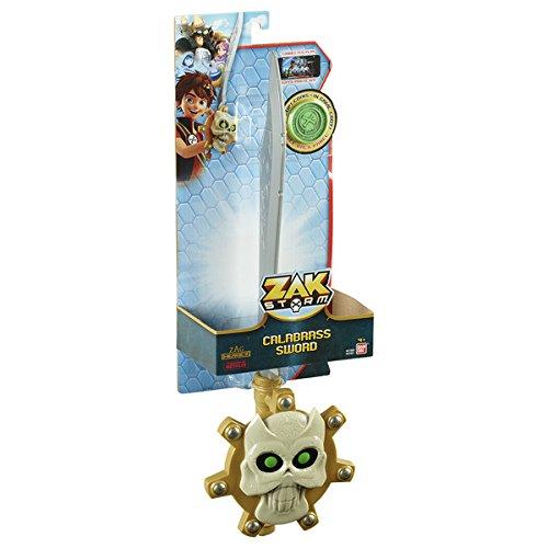 Bandai 41600 Zak Storm Calabrass Sword with Coin