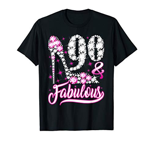 90 and Fabulous Shirt - 5 Colors