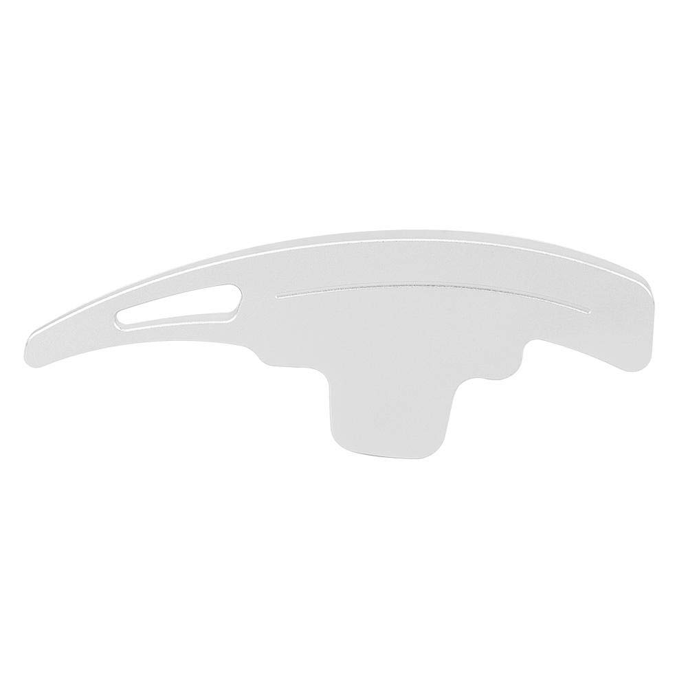 Akozon Rivestimento del volante per auto con paddle del adatto per Classe R 2016-2017 Argento