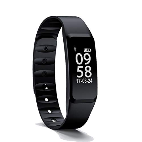 Fitness Tracker, Heart Rate Activity Tracker Fitness Wristband Smart Watch Waterproof IP67 Blood Pressure Smart Bracelet with Stopwatch Sport GPS Sleep Monitor Pedometer Calorie Women Men